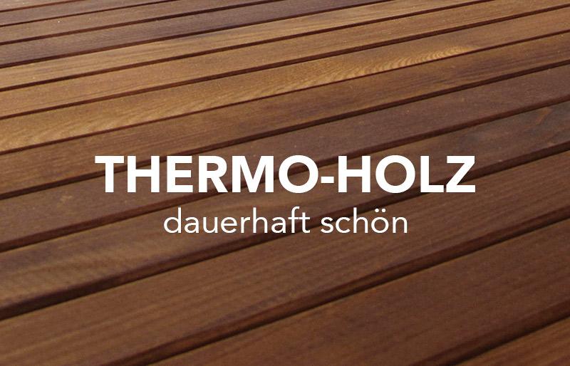 Entdecke Thermo-Holz Terrassendielen von WUNDERWERK est. 1964