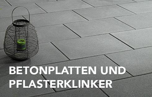 Betonplatten und Pflasterklinker von WUNDERWERK est. 1964