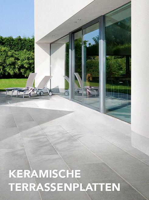 Keramische Terrassenplatten von WUNDERWERK est. 1964